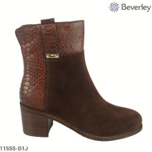 warm Brown Leather women's boots
