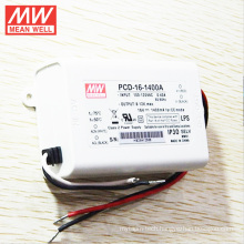 Mean Well MW 16W 1400mA AC phase cut dimmable constant current PCD-16-1400A Dimmable LED Driver