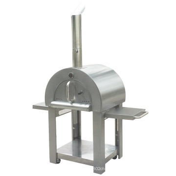 Portable Outdoor 304 Stainless Steel Wood Burning Pizza Oven