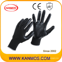 Nylon Knitted Nitrile Jersey Coated Industrial Safety Work Glove (53204NL)