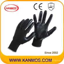 Нейлоновые трикотажные нитриловые трикотажные перчатки для промышленной безопасности (53204NL)