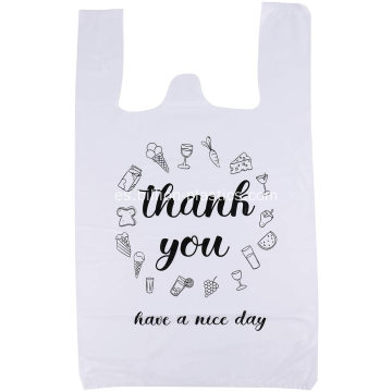 T Shirt Grocery Plastic Shopping Bag para la venta
