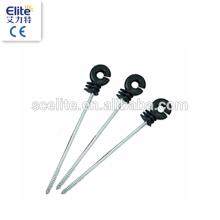 aisladores atornillados de poste de madera / aisladores de cable / accesorios de cercas eléctricas