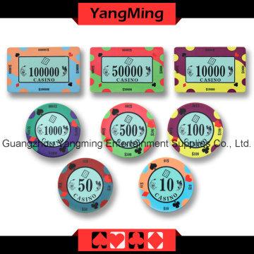 Покерный керамический чип (YMCP007-008)