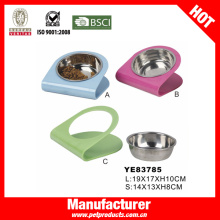 Venta al por mayor Bowl perro, acero inoxidable Pet Bowl (YE83785)