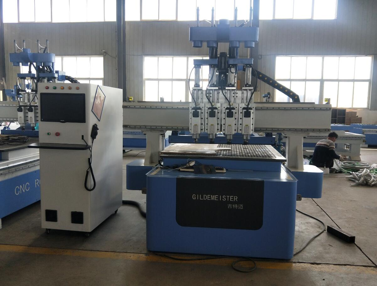 cnc carving machine 4 heads