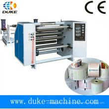 Machine de rembobinage à coupe thermique de papier thermique complète, machine de fabrication de papier thermique (DK-FQ)