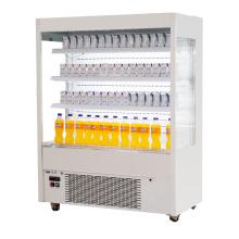 Supermarket multideck display fridge for fruit and vegetable