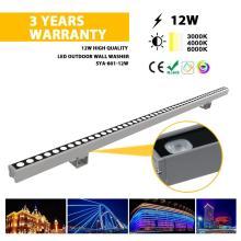 Lâmpada lavadora parede LED 12W para exterior
