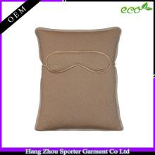 16FZTS04 high quality air travel set pillow cashmere