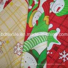 ¡Minimatt impreso Navidad para el paño de tabla! 100% T, 240G / M, fácil de lavar y secar