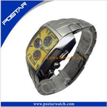 Kundenspezifische Art- und Weisemänner Uhr mit zuverlässiger Uhr-Fabrik
