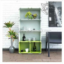 2018 March Expro Cheap DIY Plastic Living room cabinet
