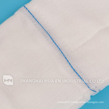 With CE FDA ISO sertificated 100% cotton medical abdominal pad, lap gauze sponge