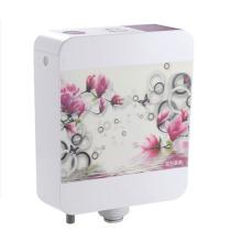 Смывной бак с цветком для ванной комнаты с 3D-принтом