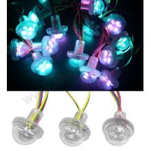 O feixe estreito conduziu a luz do jardim multicolorido do pixel dc12v rgb conduziu a luz do módulo