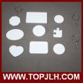 Les deux côtés imprimable Sublimation 3D polymère/Key Chain