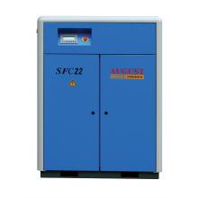 Compresor de tornillo estacionario refrigerado por aire de agosto de 22kw / 30HP
