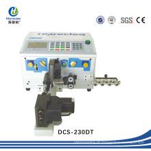 Alta eficiência cabo de fio automático Stripping máquina de cabo fazendo a ferramenta