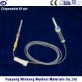 Juego de inyección IV desechable (ENK-IS-050)