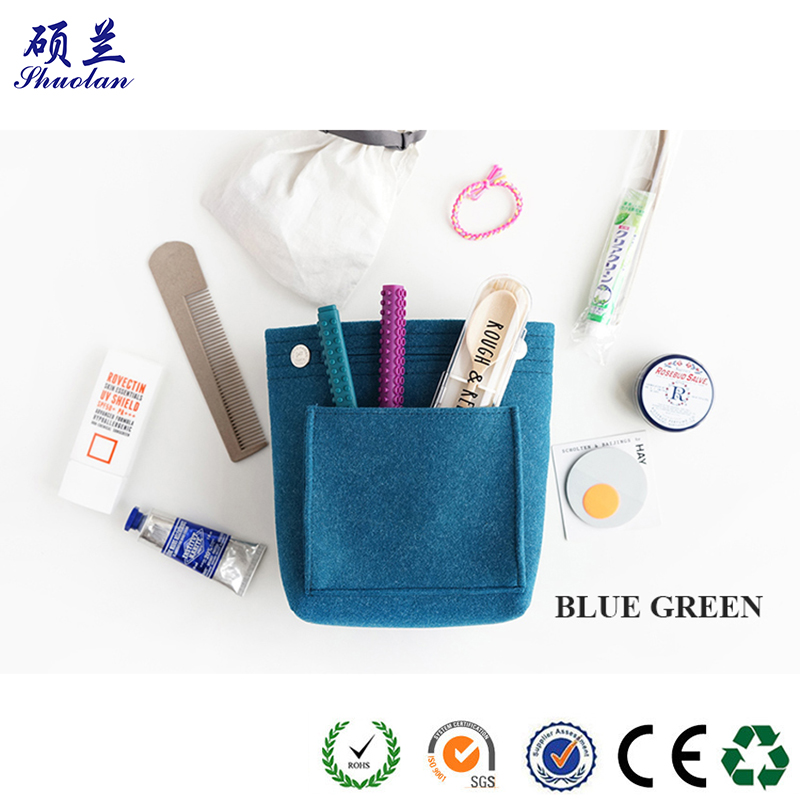 Customized Felt Cometic Bag