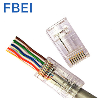 RJ45 EZ-connector EZ CAT6-connectoren