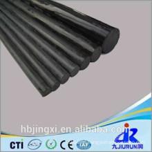 Black PVC Rigid Plastic Sheet / Board / Rod