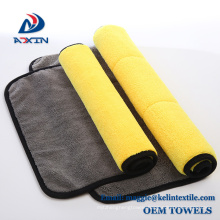 40x40cm 600gsm car coral fleece cleaning cloth for auto care