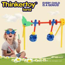 Пластиковые DIY Swing Детские игрушки подарок