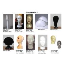 Top of Foam Head Wig Display Blocks Foam Blocks Fh14