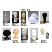 Top de espuma cabeça peruca Display blocos Fh14 blocos de espuma