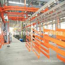 Highly Effective Powder Coating System for Pallet Racking