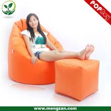 Sofá design seção saco de feijão cadeira adulto sofá saco de feijão saco de feijão não preenchido