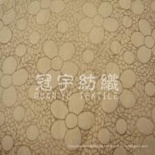Tecido têxtil caseiro 100% poliéster de camurça com fita para sofá