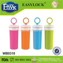 Easylock wasserdichte Plastiktrinkwasserflasche, Großverkauf, Shantou-Fabrik