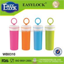 Easylock bouteille d'eau potable en plastique étanche à l'eau, en gros, usine de Shantou