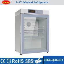 Fabrique el mini refrigerador médico del estilo 2 a 8degree