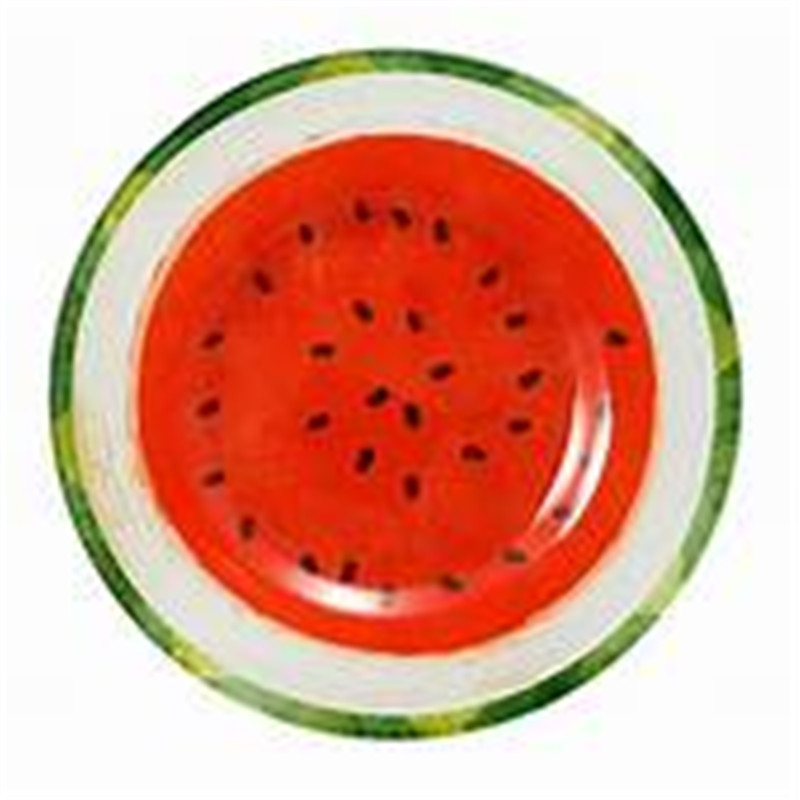 Watermelon Large Beach Round Towel