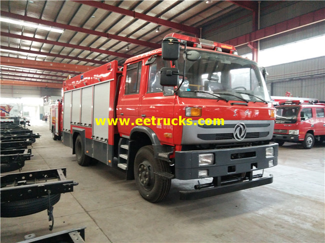 6000L 4x2 Forest Fire Fighting Trucks
