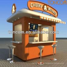 напольный киоск для еда