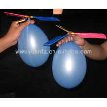 Globos de alta calidad de la hoja del helicóptero con dos globos de 6 ''