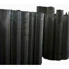 Tissu en fil noir (filet filtrant)