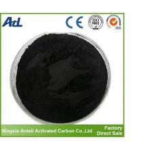 grado alimenticio del carbón activado de la purificación del aceite