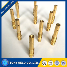 China fabricante panasonic 350A latón contacto punta titular