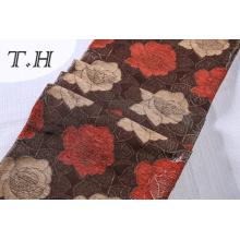 330GSM Синеля Жаккардовые диван ткань с красивыми цветами