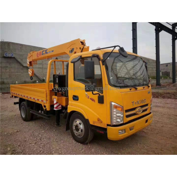 High quality assurance new design 4Ton crane truck