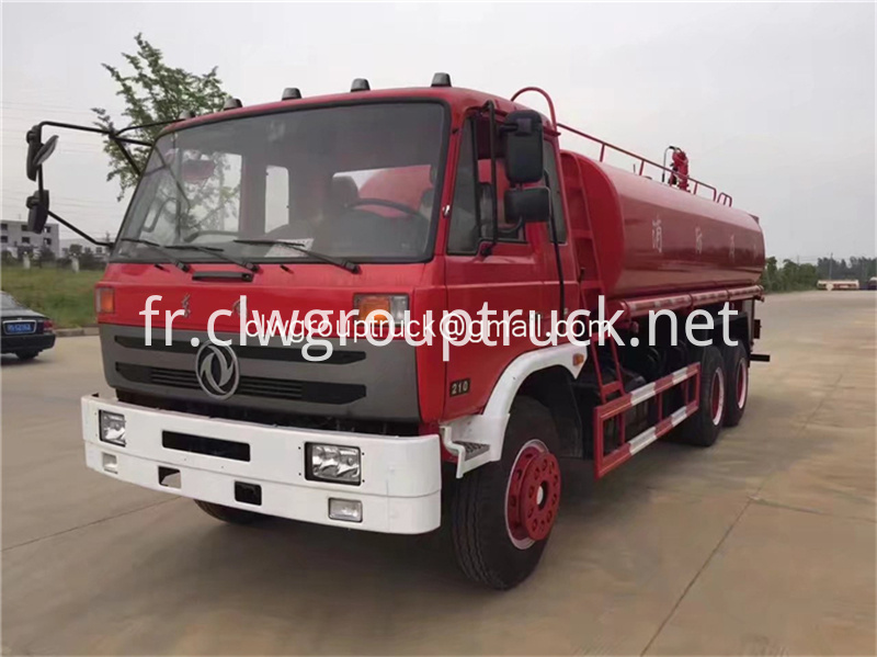 Dongfeng 6x2 Water Tanker Truck 6