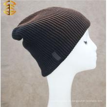 Factory Direct Versorgung Wolle gestrickte Beanie Hut für Männer