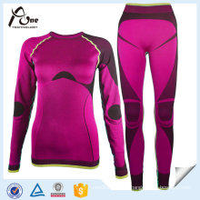 Lady Outdoor Winter Thermal Factory Seamless Underwear Set