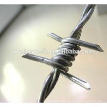 China Fabrik Qualität galvanisierte Stacheldraht wie / Rasiermesser Stacheldraht